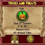 Q WC Tricks and Treats
