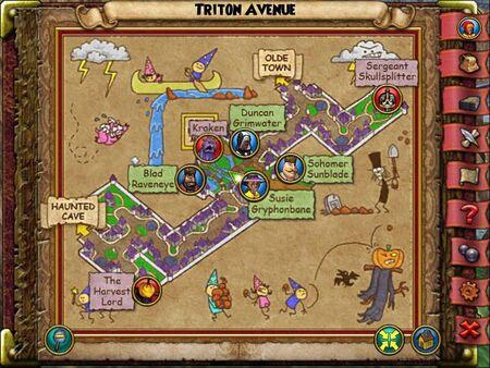 The Triton Avenue Smith Map