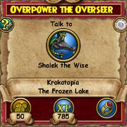 Overpower the Overseer 2