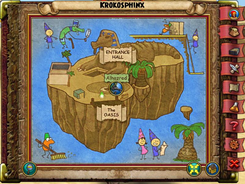 Krokosphinx Island