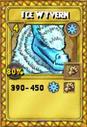 Ice Wyvern Treasure Card