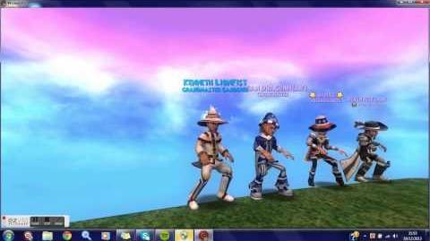 Wizard101 Bee Dance (featuring the brotherhood clan)