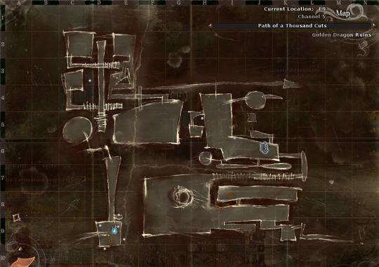 Path of a Thousand Cuts Map