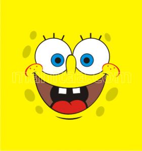 File:Spongebob-face-vector-281x300.png