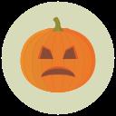 File:Halloween pumpkin icon sad.png