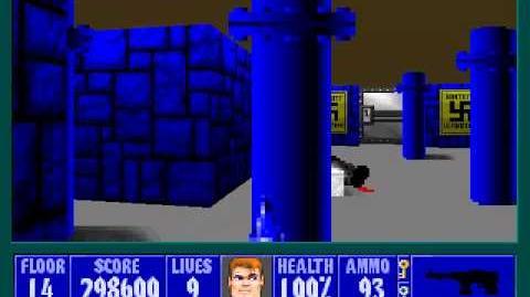 Spear Of Destiny 3 - Ultimate Challange - Floor 16 (Lower Bunker Area 4)