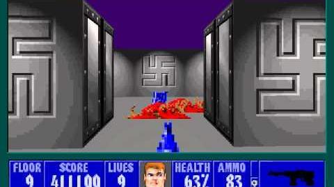 Spear Of Destiny 3 - Ultimate Challange - Floor 10 (Middle Bunker Area 4) Part 2