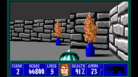 Wolfenstein 3D (id Software) (1992) Episode 3 - Die, Fuhrer, Die! - Floor 2 HD