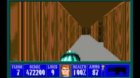 Wolfenstein 3D (id Software) (1992) Episode 3 - Die, Fuhrer, Die! (Complete) HD