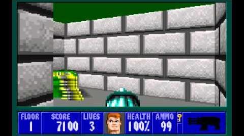 Spear of Destiny (id Software) (1992) Floor 1 HD