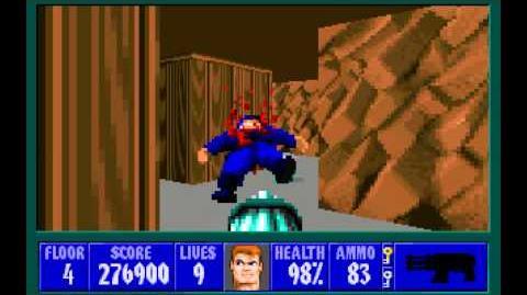 Spear of Destiny (id Software) (1992) Floor 4 HD