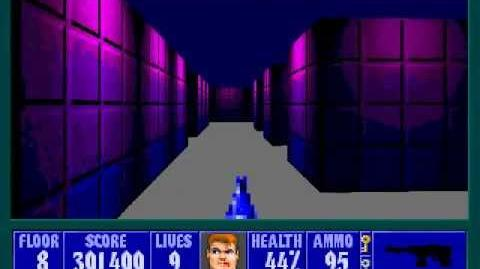 Spear Of Destiny 3 - Ultimate Challange - Floor 9 (Middle Bunker Area 3)