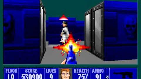 Spear Of Destiny 3 - Ultimate Challange - Floor 11 (Middle Bunker Area Boss - Barnacle Wilhelm)