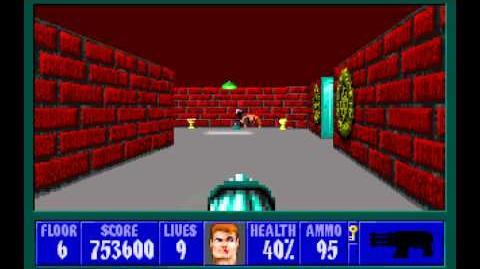 Spear of Destiny (id Software) (1992) Floor 6 HD