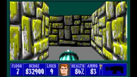 Spear of Destiny (id Software) (1992) Floor 7 HD