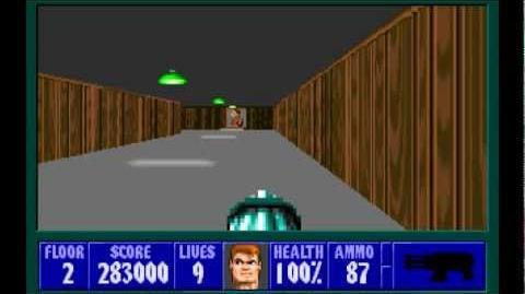 Wolfenstein 3D (id Software) (1992) Episode 1 - Escape From Castle Wolfenstein - Floor 2 HD