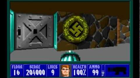 Spear of Destiny (id Software) (1992) Floor 16 - Boss Übermutant HD