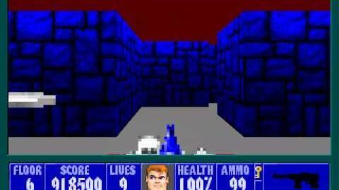 Spear Of Destiny 3 - Ultimate Challange - Floor 7 (Middle Bunker Area 1)