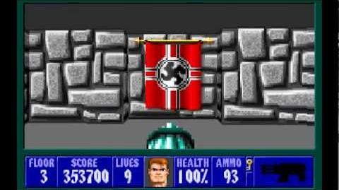 Wolfenstein 3D (id Software) (1992) Episode 1 - Escape From Castle Wolfenstein - Floor 3 HD