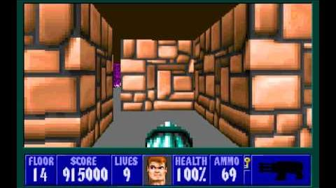 Spear of Destiny (id Software) (1992) Floor 14 HD