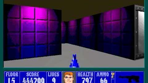 Spear Of Destiny 3 - Ultimate Challange - Floor 17 (Lower Bunker Area 5)