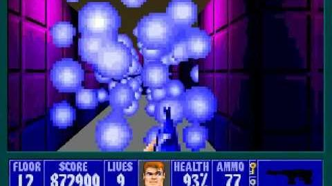 Spear Of Destiny 3 - Ultimate Challange - Floor 13 (Lower Bunker Area 2) Part 2