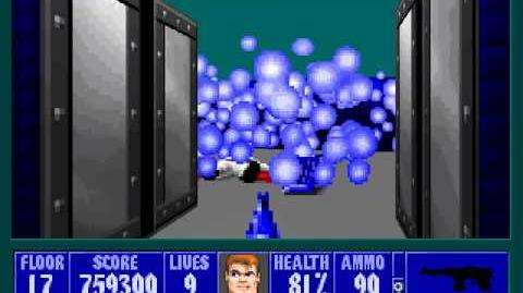 Spear Of Destiny 3 - Ultimate Challange - Floor 19 (Führerbunker) Part 1