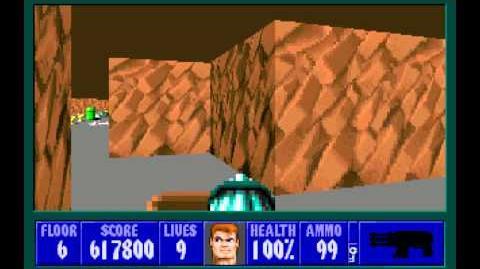 Wolfenstein 3D (id Software) (1992) Episode 6 - Confrontation - Floor 6 HD