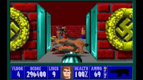 Wolfenstein 3D (id Software) (1992) Episode 5 - Trail of the Madman - Floor 4 HD
