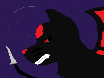 Darkrai under the stars