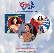 Wonder Woman 75th Anniversary Picture Disc Vinyl ad