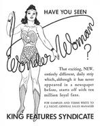 Wonder Woman newspaper strip ad 02
