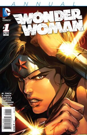 Wonder Woman Vol 4 Annual-1 Cover-1
