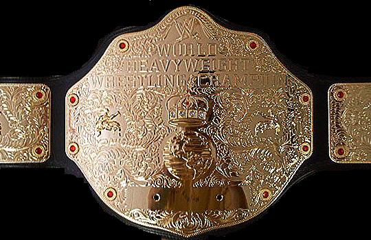 how to make a wwe world heavyweight championship belt