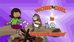 Backyard Camping titlecard