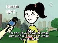 Hannah8space