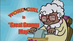 Great Granny May titlecard