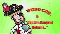 Captain Tangent Returns