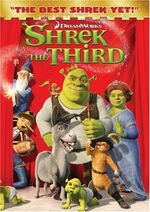 Shrek3 dvd