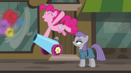 Pinkie fires her party cannon with joy S6E4