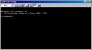 Windows98se msdos