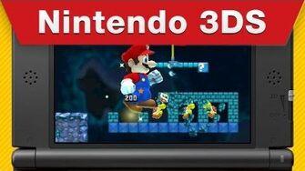 Nintendo 3DS - New Super Mario Bros