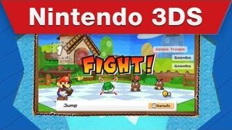 Nintendo 3DS - Paper Mario Sticker Star Game Trailer