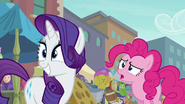 "Pinkie Pie ""how'd you know?"" S6E4"