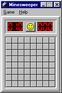 Windows95 minesweeper