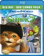 Shrek2 bluray