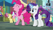 "Pinkie Pie ""can't wait to see the look on her face"" S6E4"