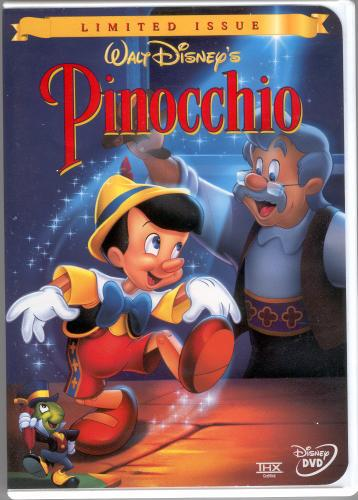 Pinocchio (1999-2000 VHS/DVD)   Twilight Sparkle's Media ...