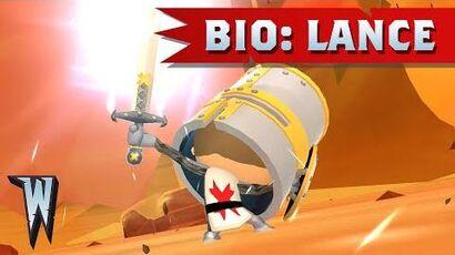 Official World of Warriors Bio Lance