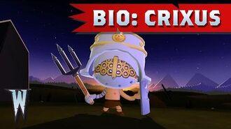 Official World of Warriors Bio Crixus